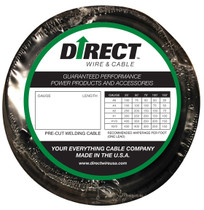 Direct Wire #1 10' Black Flex-a-Prene FP0079