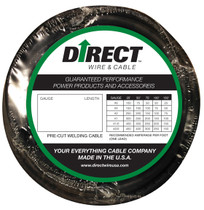 Direct Wire #1 50' Black Flex-a-Prene FP0220