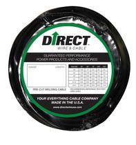 Direct Wire #1 100' Black Flex-a-Prene FP0291
