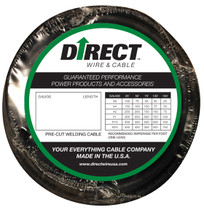 Direct Wire #2 50' Black Flex-a-Prene FP0672