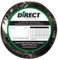 Direct Wire #4 25' Black Flex-a-Prene FP0905 (image shown is #2 gauge)