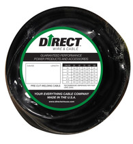 Direct Wire #4 250' Black Flex-a-Prene FP1009
