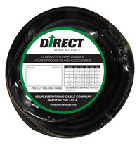 Direct Wire 1/0 50' Black Flex-a-Prene FP1502