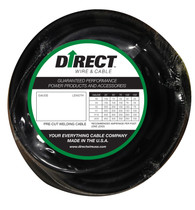 Direct Wire 1/0 100' Black Flex-a-Prene FP1637