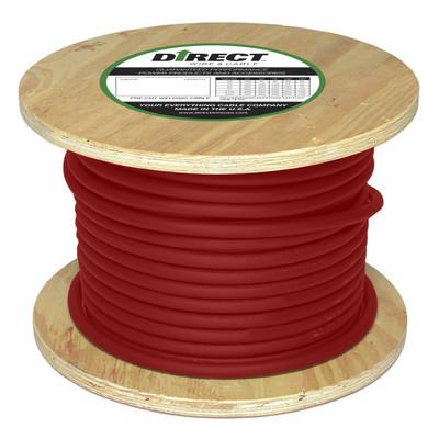 Direct Wire 1/0 250' Red Flex-a-Prene FP1737