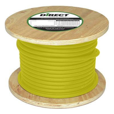 Direct Wire 1/0 500' Yellow Flex-a-Prene FP1759