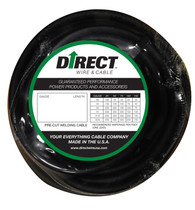 Direct Wire 2/0 25' Black Flex-a-Prene FP2027