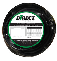 Direct Wire 2/0 50' Black Flex-a-Prene FP2125