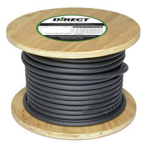 Direct Wire 2/0 500' Black Flex-a-Prene FP2359 (image shown is representative of product)