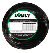 Direct Wire 3/0 25' Black Flex-a-Prene FP2440