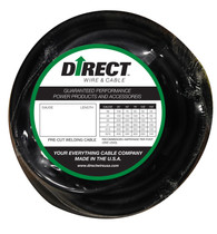 Direct Wire 3/0 75' Black Flex-a-Prene FP2493