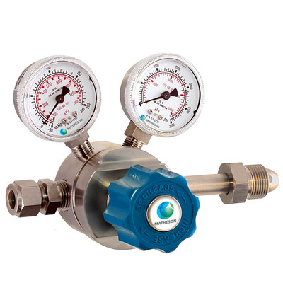 Model 3200 Series Single-Stage High-Purity/High Flow Stainless Steel Regulator