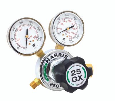 HARRIS 25GX-15-510 0-15 PSI CGA510 ACETYLENE REG 3000380