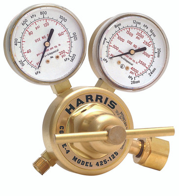 HARRIS 425-50-580 0-50PSI CGA-580 INERT GAS REG 3000843