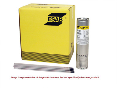 "Esab 7018 Atom Arc 1/4"" 50 lb Carton 255011413"