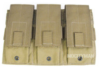 Specter Gear MOLLE Universal Triple Rifle Magazine Pouch - Model 273 COY - NEW - USA Made