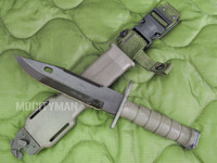 Lan-Cay M9 Bayonet with Scabbard - Unissued Late Model 2002 - Genuine Military - USA Made (11593)