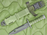 Ontario M-9 Bayonet with Scabbard - Unissued Early Model - USA Made (12308)