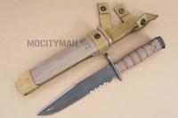 Ontario USMC OKC-3S Bayonet with Scabbard - Genuine Military - USA Made (16816)