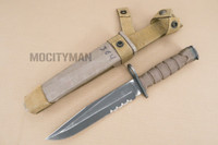 Ontario USMC OKC-3S Bayonet with Scabbard - Genuine Military - USA Made (16841)