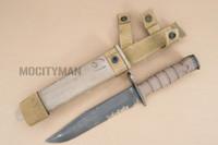 Ontario USMC OKC-3S Bayonet with Scabbard - Genuine Military - USA Made (16853)