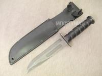 USMC MSI Mk2 Mark 2 Combat Knife Ka-Bar with Leather Sheath - Genuine Military - USA Made (13719)