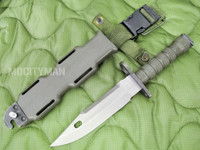 LanCay M9 Bayonet with Scabbard - Early Model 1993 - Genuine Military - USA Made (13647)