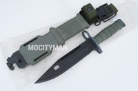 Ontario M9 Bayonet with Scabbard - 2006 Model - Genuine Military - USA Made - New with Open Package (21515)
