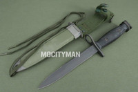 Imperial M7 Bayonet with M8A1 TWB Scabbard - Genuine Military - USA Made (22172)