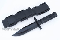 Phrobis Int'l  Black Blade M.F.K. Multipurpose Field Knife Model 9010 - NEW (23098)