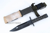 Lan-Cay M9 Bayonet with Scabbard - Unissued 1999 Model  - Genuine Military - USA Made (23120)