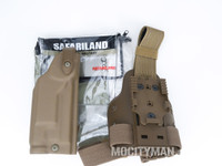 Safariland 6004SS Holster and Shroud For Colt USMC MARSOC M45A1 CQCP Pistol With X200 Light - Right Hand - New 2015 - USA Made (23840)