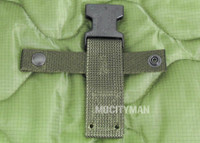 Back Strap for the Ontario M9 Bayonet - Green Color - Genuine - NEW - USA Made (9609A)