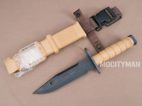 Lan-Cay M9 Bayonet with Scabbard - Commercial 2004 Model - USA Made (24187)