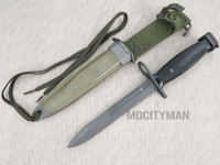 BOC M7 Bayonet with M8A1 PWH Scabbard - Genuine Military - USA Made (25007)