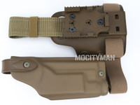Safariland 6004SS Holster and Shroud For Colt USMC MARSOC M45A1 CQCP Pistol With X200 Light - Right Hand -  USA Made (25081)