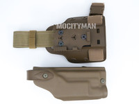 Safariland 6004SS Holster and Shroud For Colt USMC MARSOC M45A1 CQCP Pistol With X200 Light - Right Hand -  USA Made (25374)
