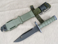 Ontario M9 Bayonet with Scabbard - 2005 Model - Genuine Military - USA Made - Nice (25723)