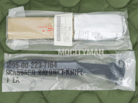 General Cutlery GenCut M7 Bayonet with M10 Scabbard - Genuine Military - USA Made  - NEW (25135)