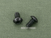 Stainless Steel Back Strap Screw Set Black for the M11 or M9 Bayonet (26873)