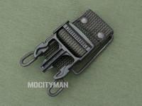 Bianchi FADED Black Belt Clip for the M9 Bayonet - USA Made (26883)