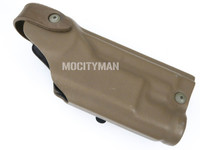 Safariland 6004SS Holster For Colt USMC MARSOC M45A1 CQCP Pistol With X200 Light - Right Hand - USA Made (26935)