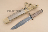 Ontario USMC OKC-3S Bayonet with Scabbard - Genuine Military - USA Made (16901)