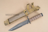 Ontario USMC OKC-3S Bayonet with Scabbard - Genuine Military - USA Made (16860)