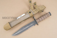 Ontario USMC OKC-3S Bayonet with Scabbard - Genuine Military - USA Made (16867)
