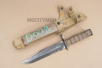 Ontario USMC OKC-3S Bayonet with Scabbard - Genuine Military - USA Made (16915)