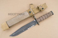 Ontario USMC OKC-3S Bayonet with Scabbard - Genuine Military - USA Made (16929)