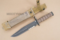 Ontario USMC OKC-3S Bayonet with Scabbard - Genuine Military - USA Made (16894)
