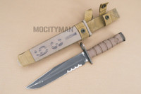 Ontario USMC OKC-3S Bayonet with Scabbard - Genuine Military - USA Made (16874)