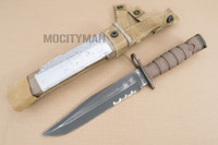Ontario USMC OKC-3S Bayonet with Scabbard - Genuine Military - USA Made (16907)